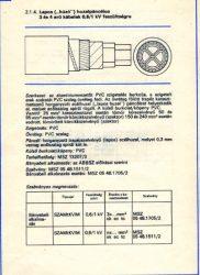 NAYY-J  4*150 mm2 / SZAMtKVIM  ALUMÍNIUM HÚZÓPÁNCÉLOS KÁBEL/