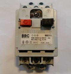 MOTORVÉDŐ BBC 0,25-0,4A-IG