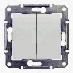 Sedna 106+6 dupla váltó kapcsoló