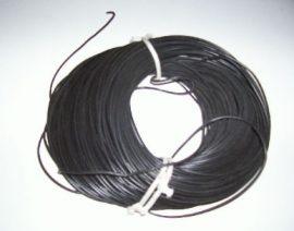 SiKH 1x 4 mm2 fekete Szilikon vezeték